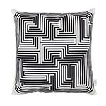 alexander girard graphic print maze pillow  -