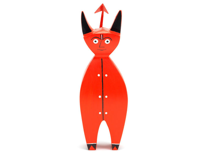 alexander girard little devil wooden doll