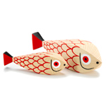 alexander girard mother fish & child wooden doll  -