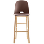 alfi high back stool - Jasper Morrison - emeco