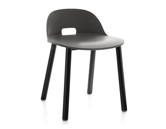 alfi low back aluminum chair