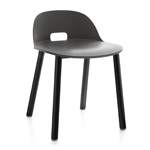 alfi low back aluminum chair  -