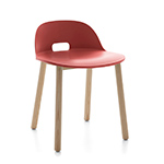 alfi low back chair - Jasper Morrison - emeco