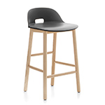 alfi low back stool - Jasper Morrison - emeco