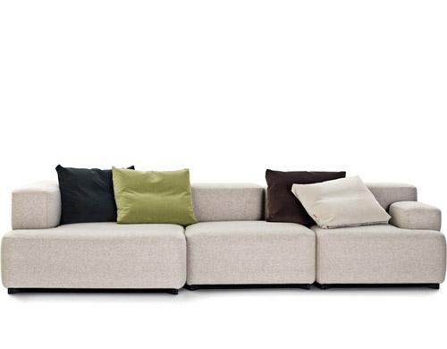 alphabet 3 seat sofa hivemodern com rh hivemodern com piero lissoni sofa cassina piero lissoni sofa neowall