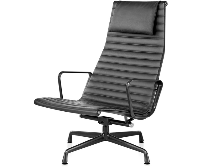 eames aluminum group lounge chair. Black Bedroom Furniture Sets. Home Design Ideas