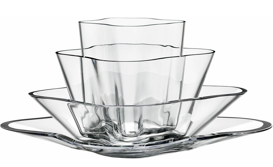 alvar aalto flower vase set