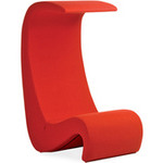panton amoebe highback chair