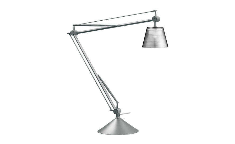 Archimoon k table lamp for Philippe starck glass table