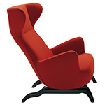 carlo mollino ardea lounge chair