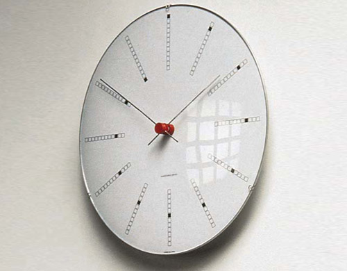 Arne Jacobsen Banker S Clock Hivemodern Com