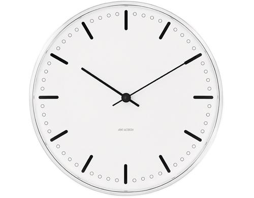 arne jacobsen city hall clock