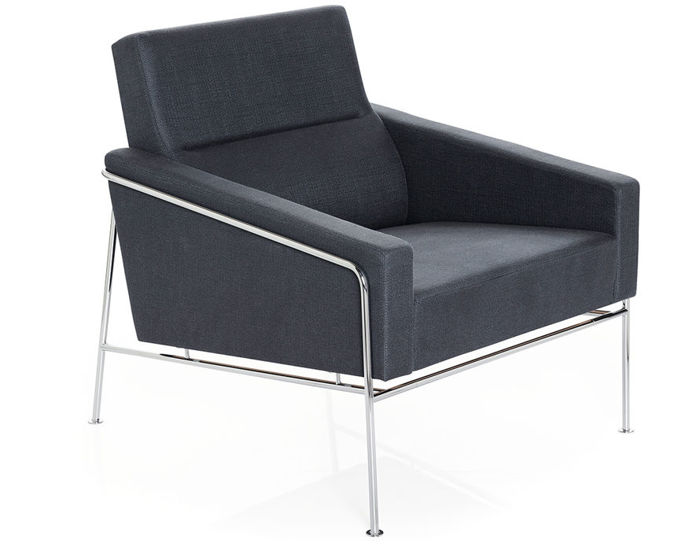 arne jacobsen series 3300 easy chair. Black Bedroom Furniture Sets. Home Design Ideas