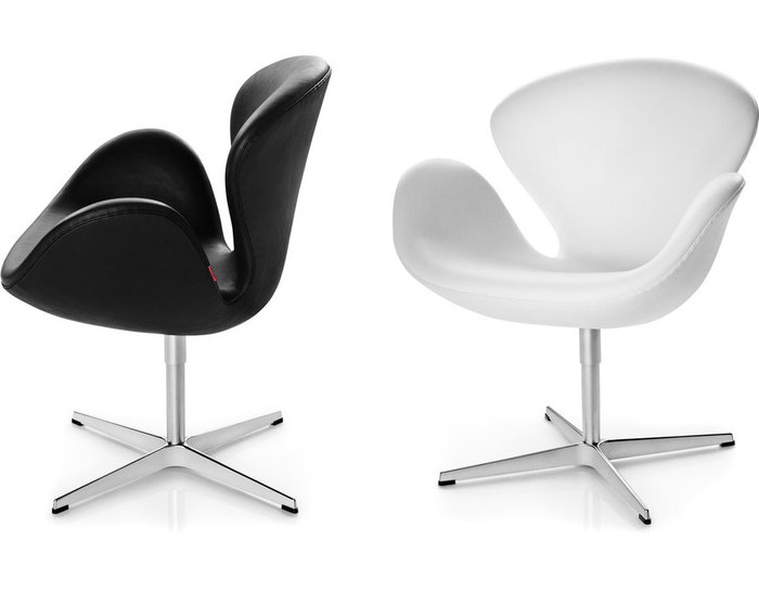 Home gt lounge chairs amp chaises arne jacobsen swan chair for Chaise arne jacobsen