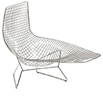 bertoia asymmetric chaise lounge  -