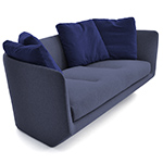 aura 220 three seat sofa