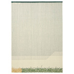 backstitch calm rug  -