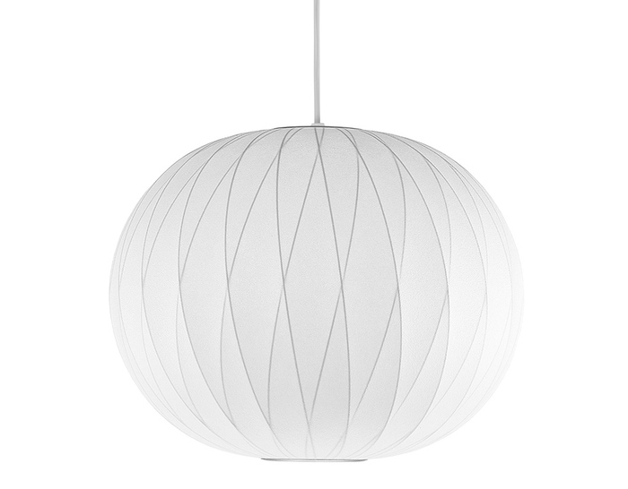 ball bubble lamp - criss cross