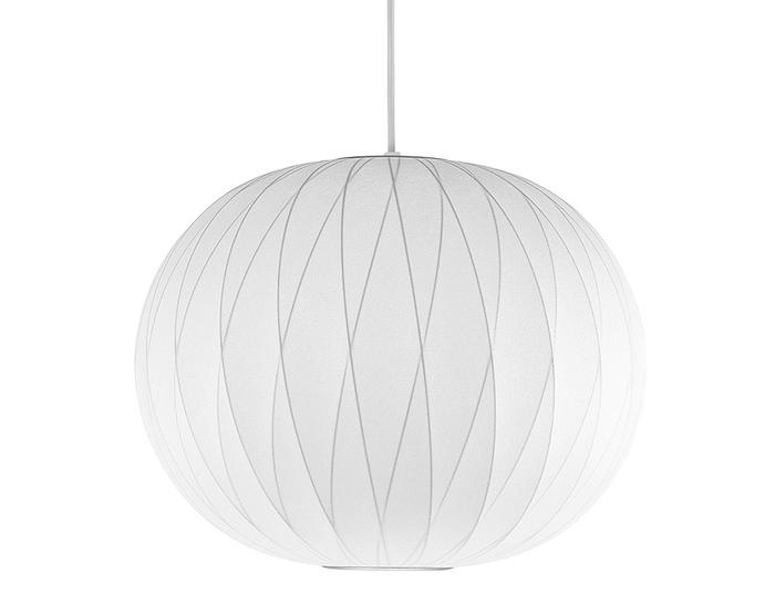 nelson™ bubble lamp crisscross ball