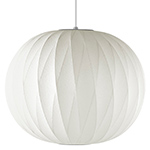 nelson bubble lamp crisscross ball - George Nelson - Herman Miller