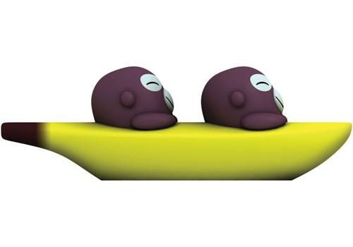 banana boys salt & pepper set