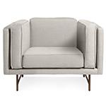 bank lounge chair  - blu dot