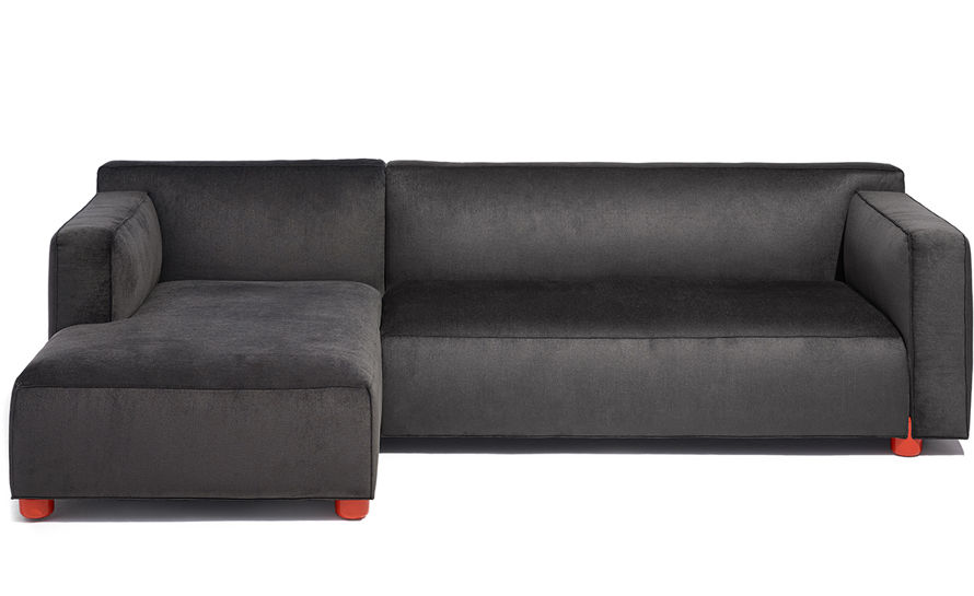 barber & osgerby asymmetric sofa with chaise