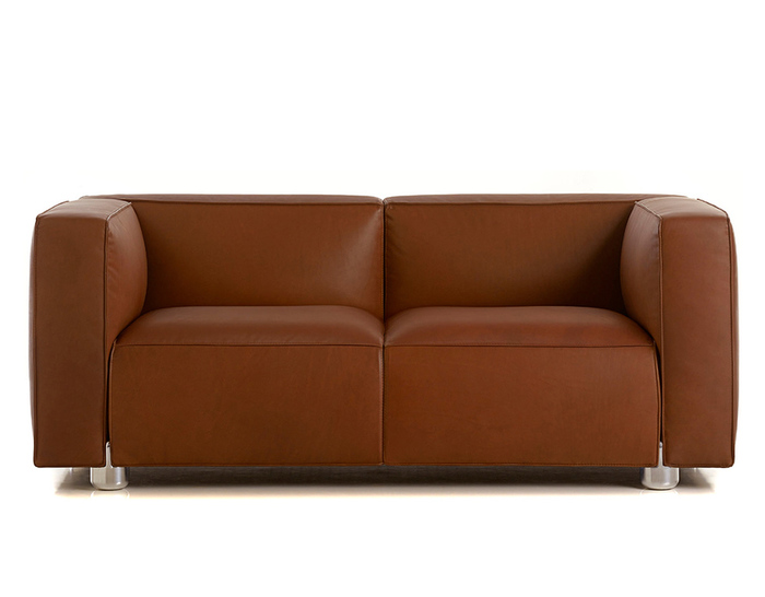 barber osgerby compact two-seat sofa