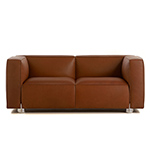 barber osgerby compact two-seat sofa  -