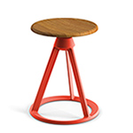 piton™ fixed stool - Barber & Osgerby - Knoll