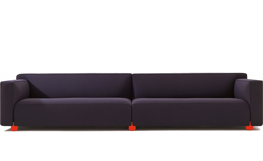barber osgerby four seat sofa hivemodern