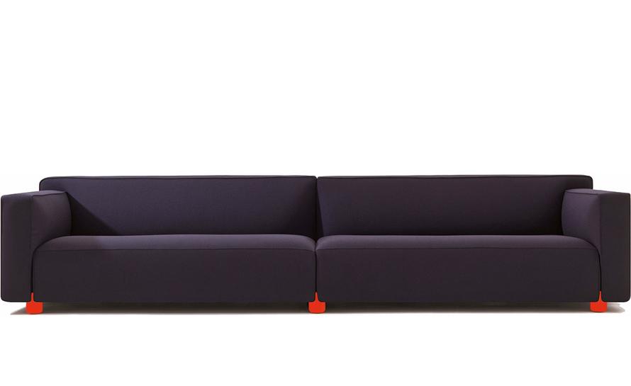 barber osgerby four seat sofa. Black Bedroom Furniture Sets. Home Design Ideas
