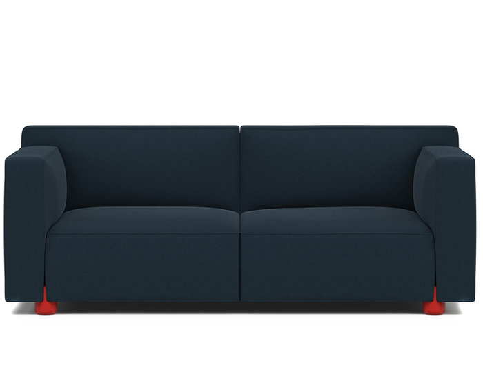 barber osgerby two seat sofa hivemodern