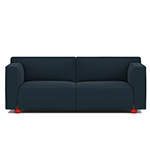 barber osgerby two-seat sofa  -