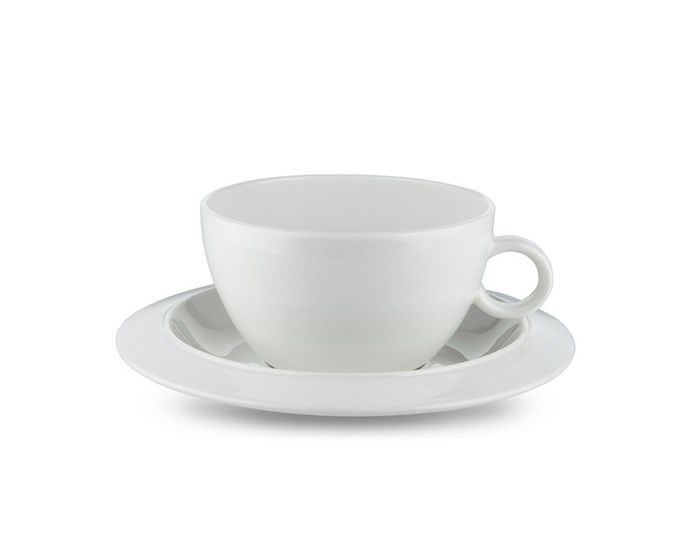 bavero teacup & saucer set of 2