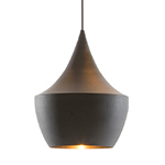 beat light fat pendant light  -