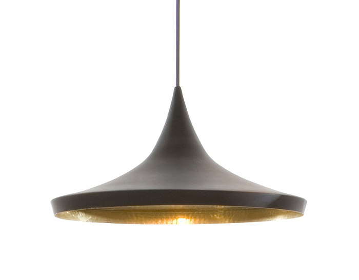 beat light wide pendant light