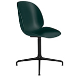 beetle dining chair with swivel base  - gubi