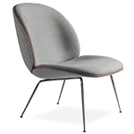 beetle lounge chair with conic base  -