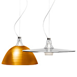 bell crash suspension lamp  - foscarini