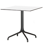 belleville square table  -