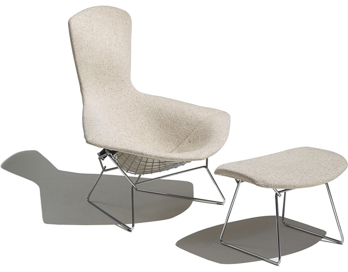 chair studio knoll side bertoia dedece
