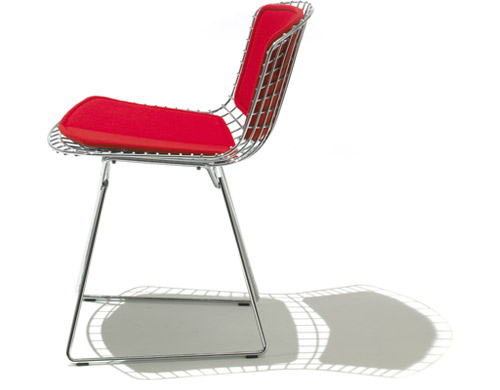 Bertoia Side Chair With Back Pad Amp Seat Cushion