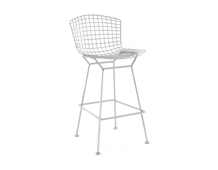 bertoia stool unupholstered
