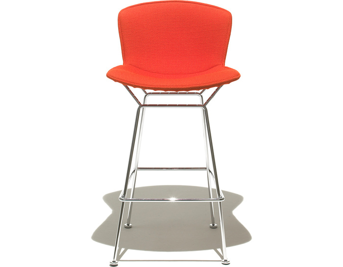 Bertoia stool upholstered for Bertoia stoel