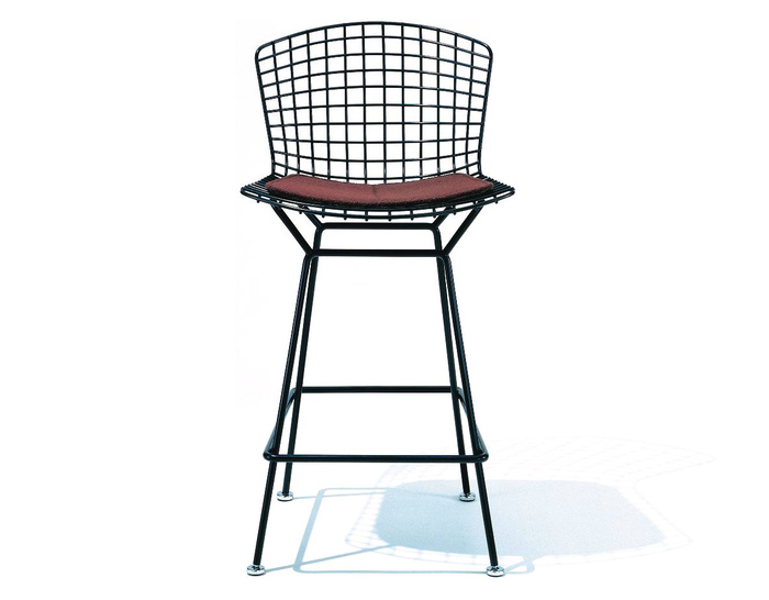 Bertoia Stool With Seat Cushion - hivemodern.com