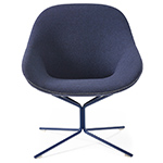 beso lounge chair with star base  - artifort