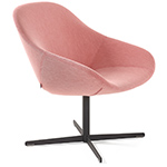 beso lounge chair with swivel base  - artifort