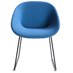 beso sledge base armchair  - artifort