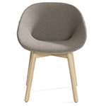 beso wood base armchair  - artifort